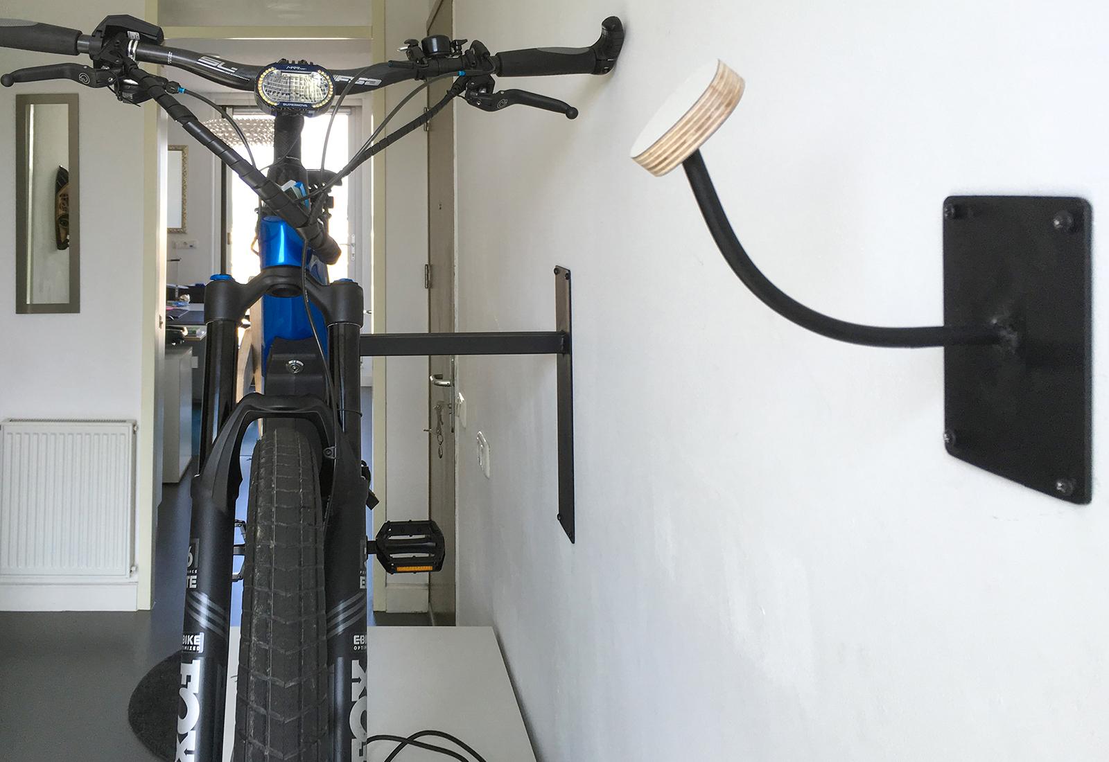 Indoor oplaadstation voor fiets