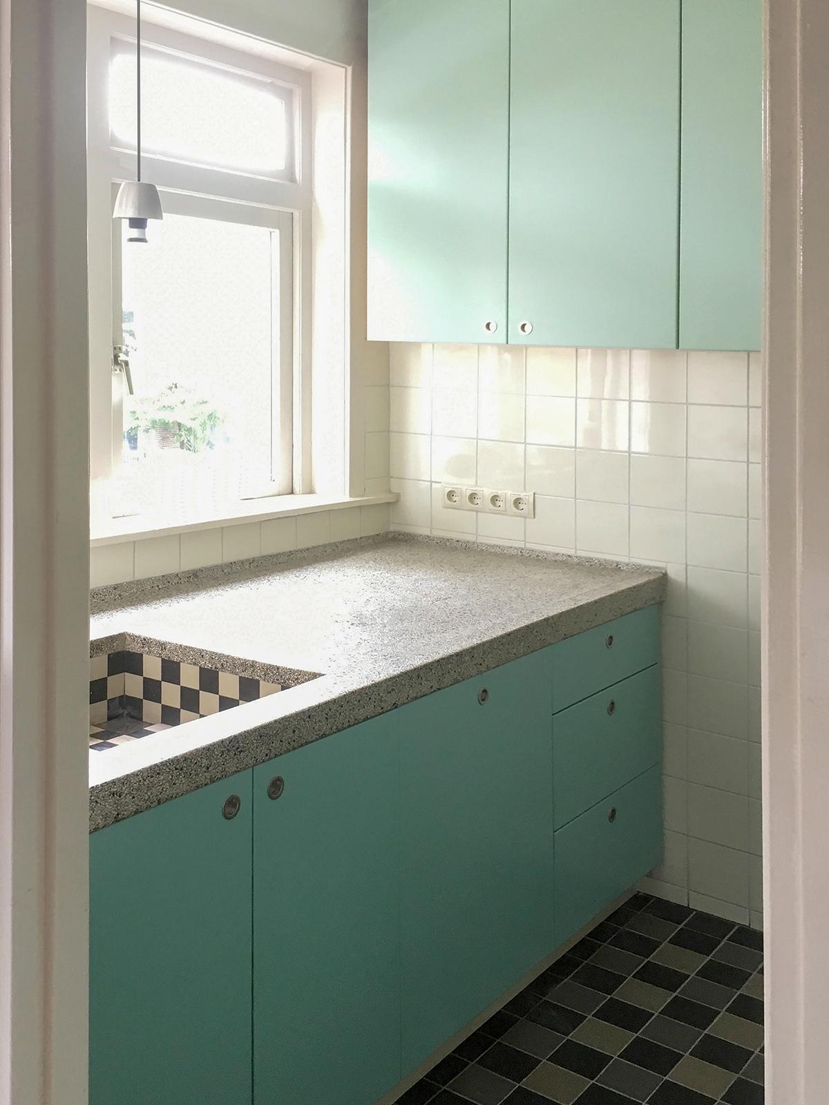 Keuken in kleine ruimte