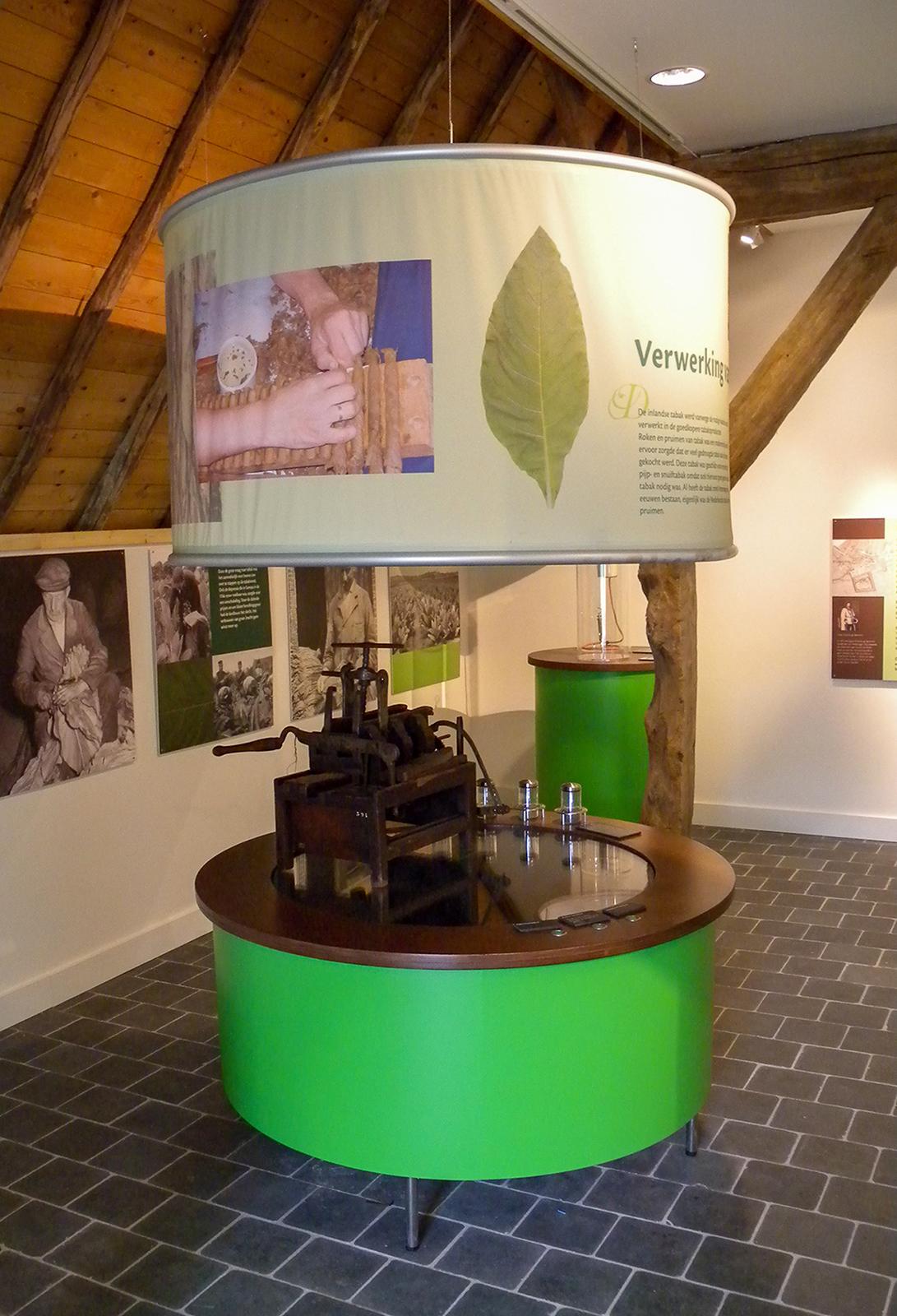Inrichting Tabaksteelt Museum
