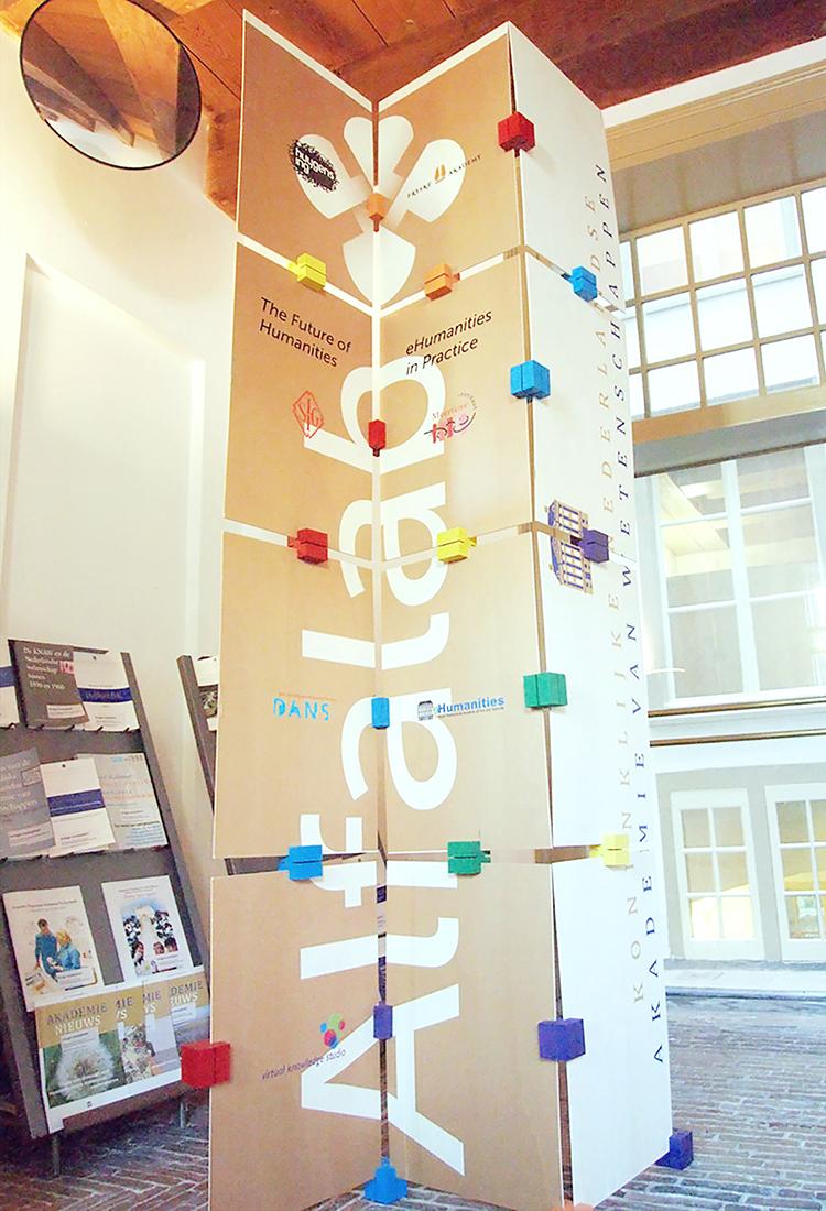Modulaire presentatiewand Alfalab